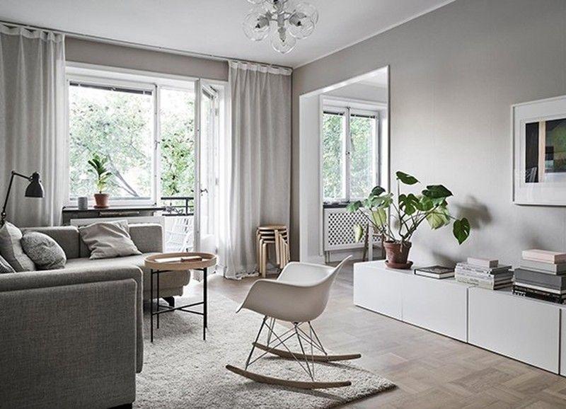 Binnenkijken in dit monotone interieur met rustige kleuren huis