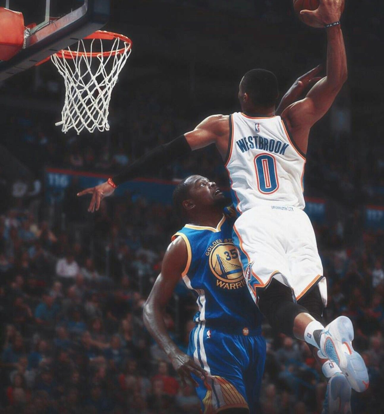 Knight Basketball Player Wallpaper: Russell Westbrook Vs Kevin Durant