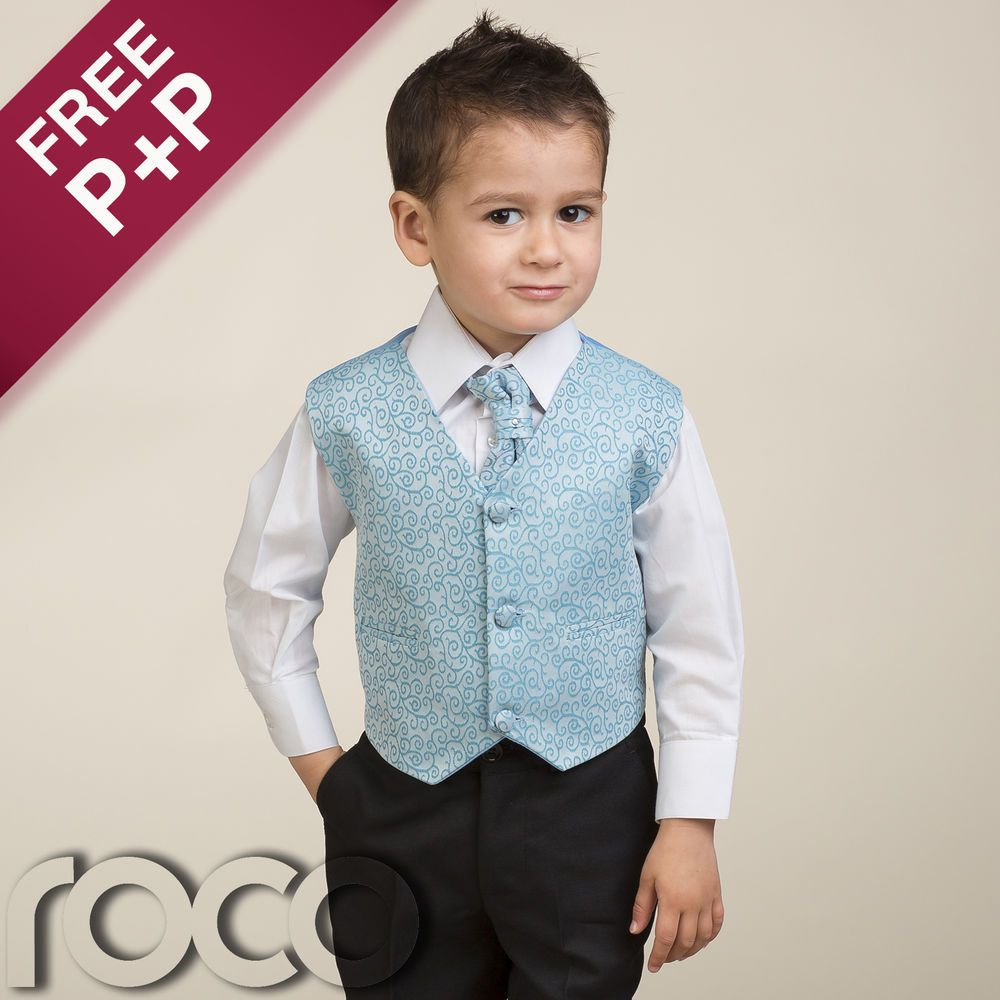 Boys Blue Suit, Christening Outfits for Boys, Page Boy Suits, Boys ...