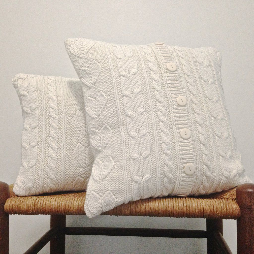 Sweater Pillows Custom Made From