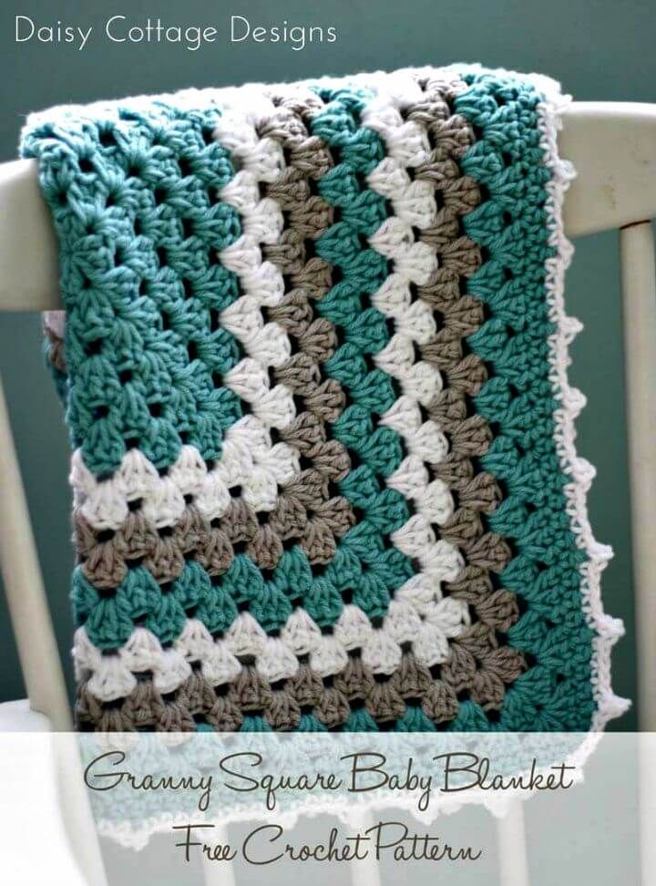100 Free Crochet Blanket Patterns to Try Out This Weekend | Crochet ...