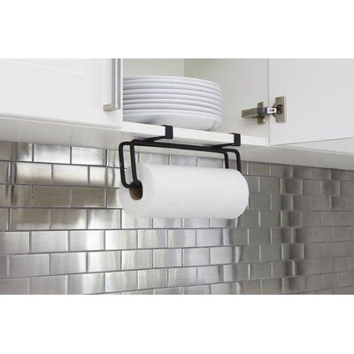Umbra Squire Wall Mounted Paper Towel Holder | Wayfair #papertowelholders