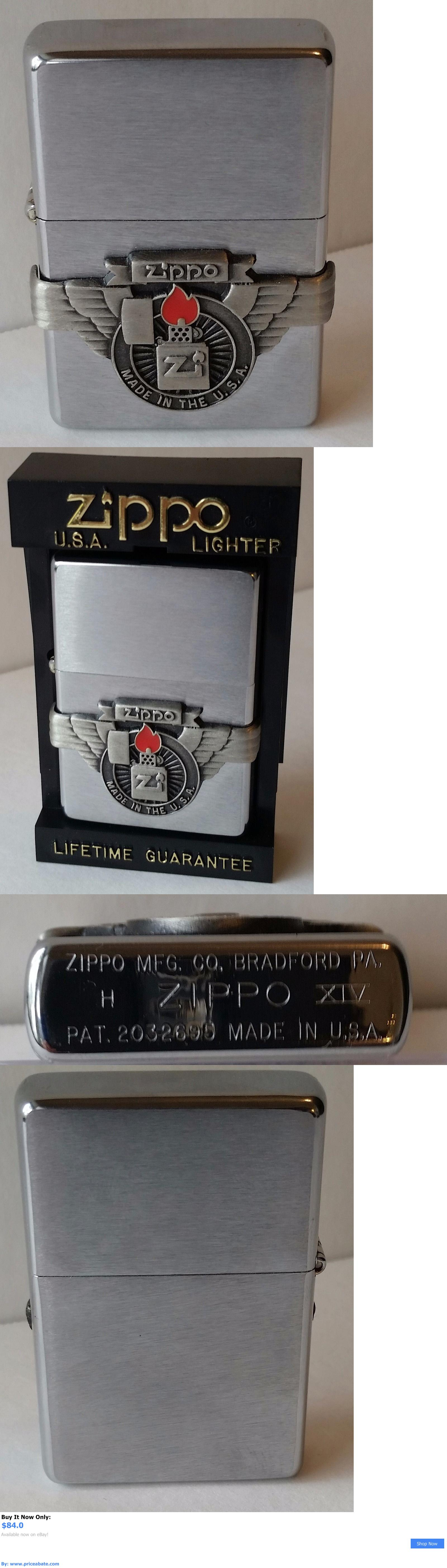 collectibles: Zippo Lighter 1998 Zippo Logo 1998 New In Box Vintage Rare BUY IT NOW ONLY: $84.0 #priceabatecollectibles OR #priceabate