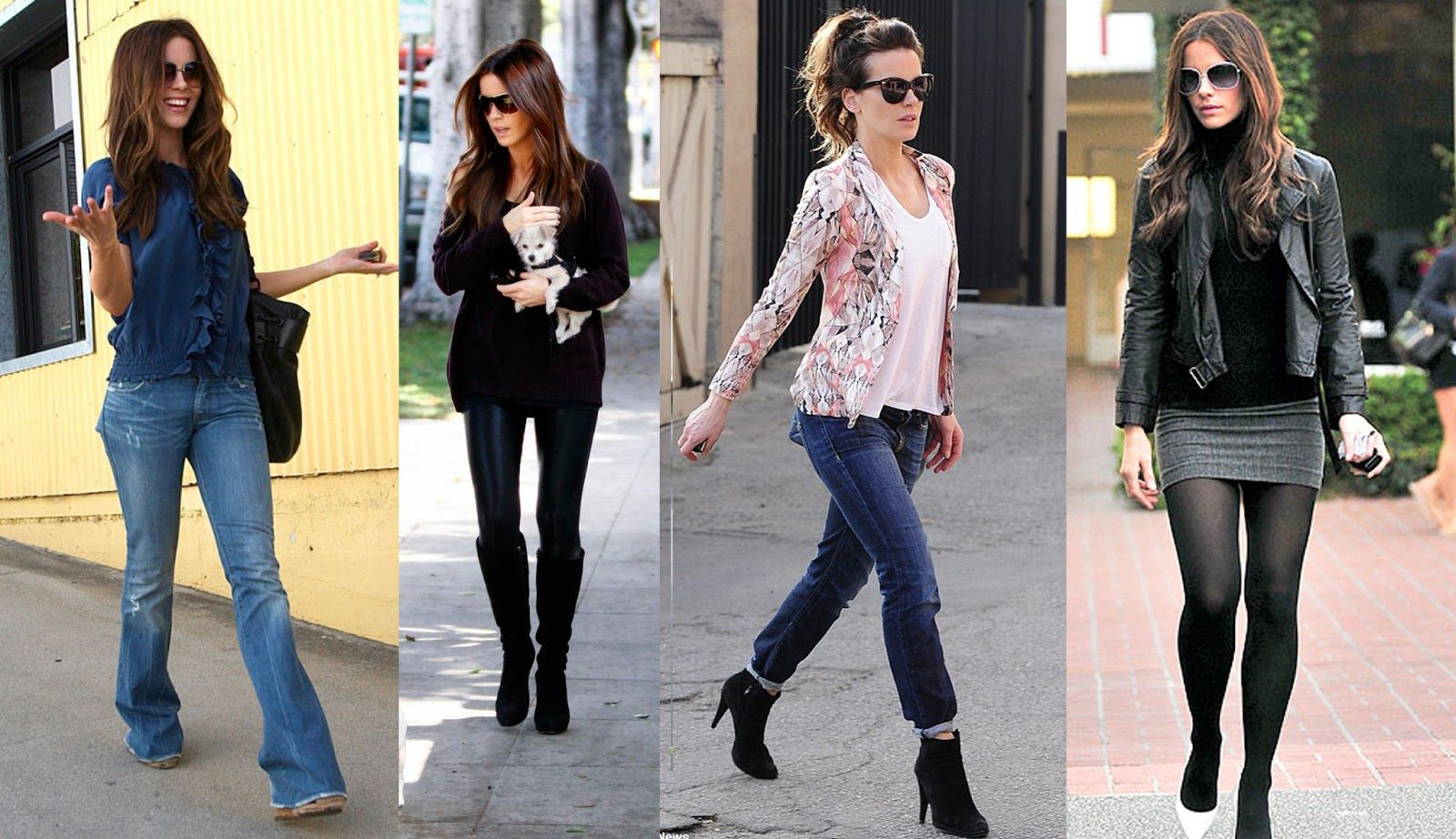 Kate Beckinsale Street-Style