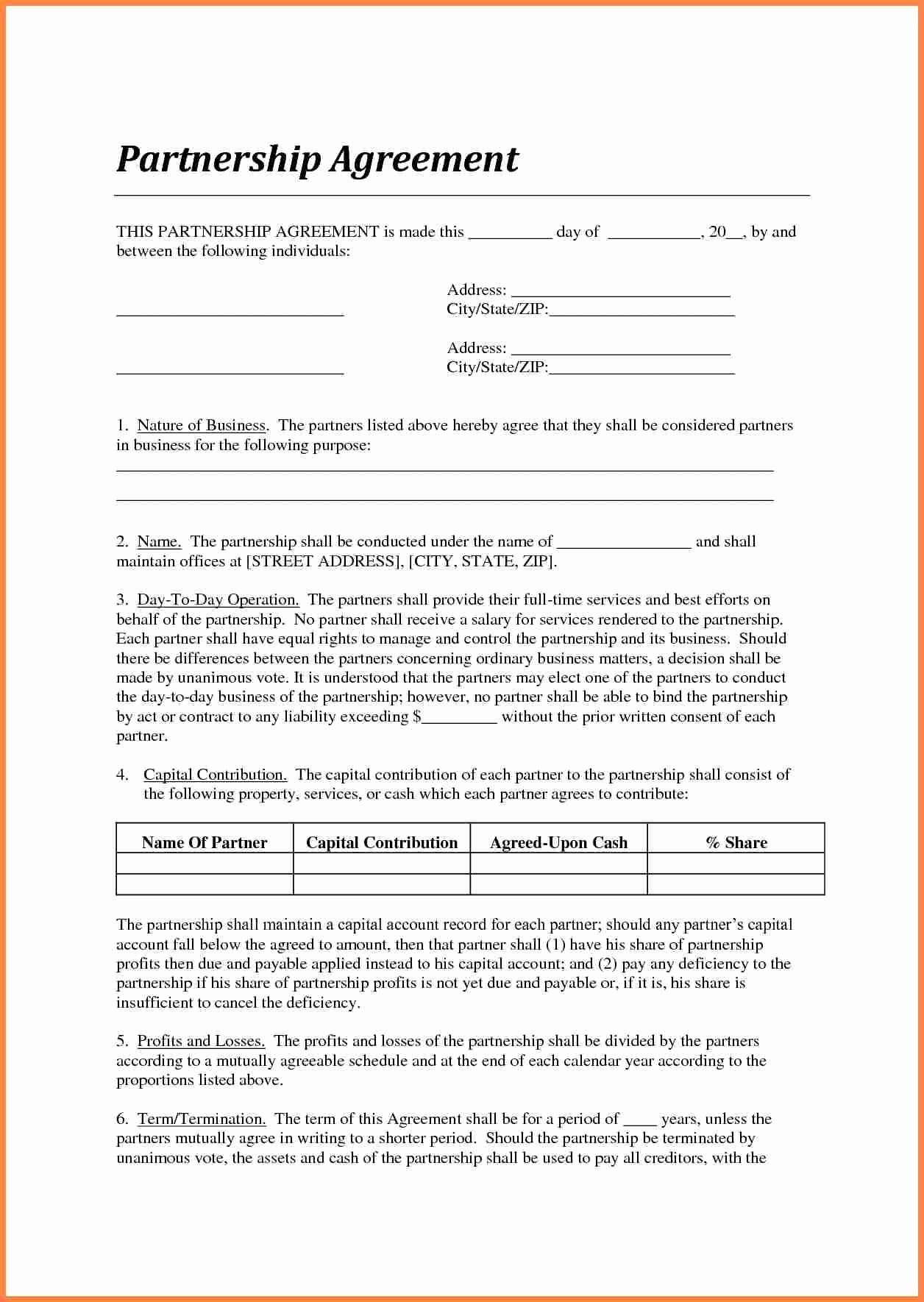 Contract Template Between Two Parties Best Of Sample Loan