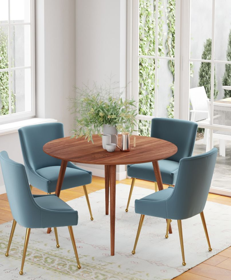 34+ West elm fishs eddy expandable dining table 42 62 walnut Trending