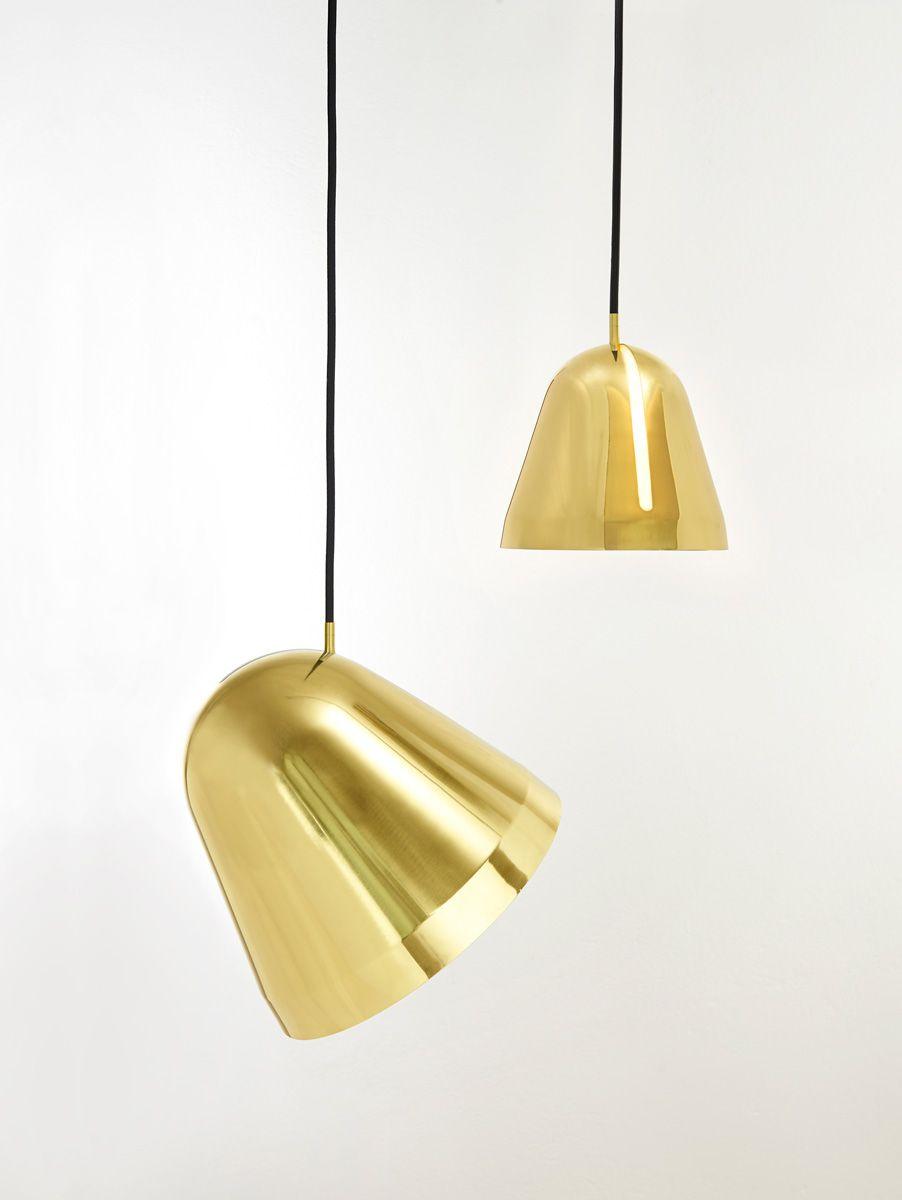 Nyta u luminaire tilt brass light pendants u chandeliers