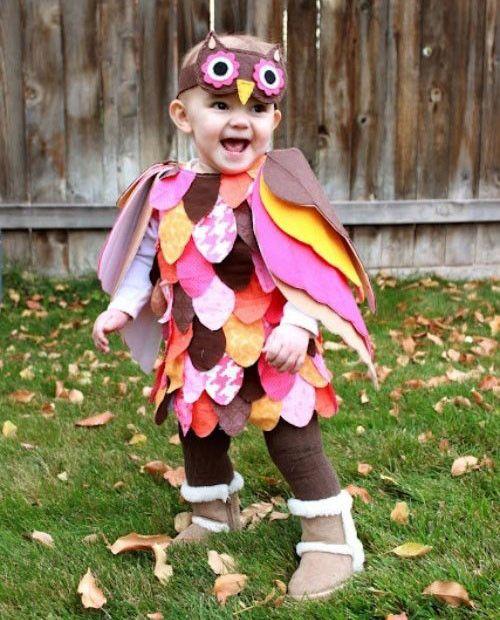 Kinderkostum Eule Selbermachen Halloween Halloween Costumes