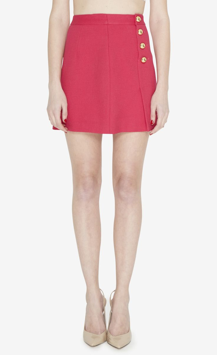 3 1 Phillip Lim Ruby Red Skirt Vaunte Red Skirts Fashion Cool Outfits