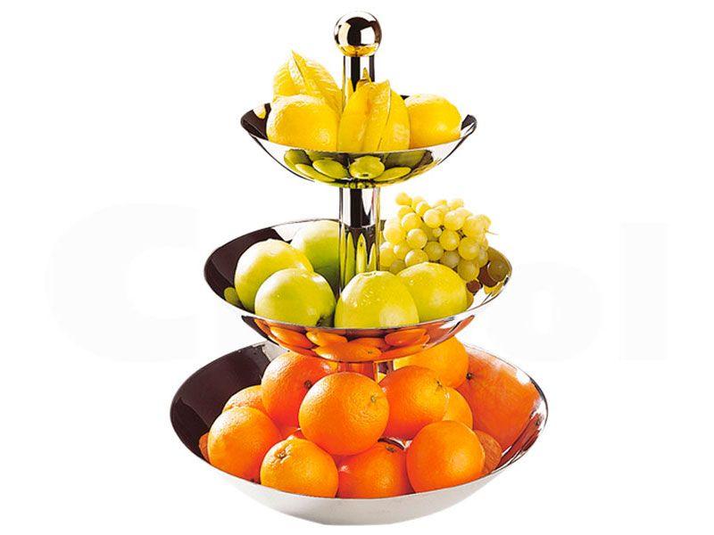 Buffet y catering paneras y fruteros frutero classic for Mesa frutero cocina