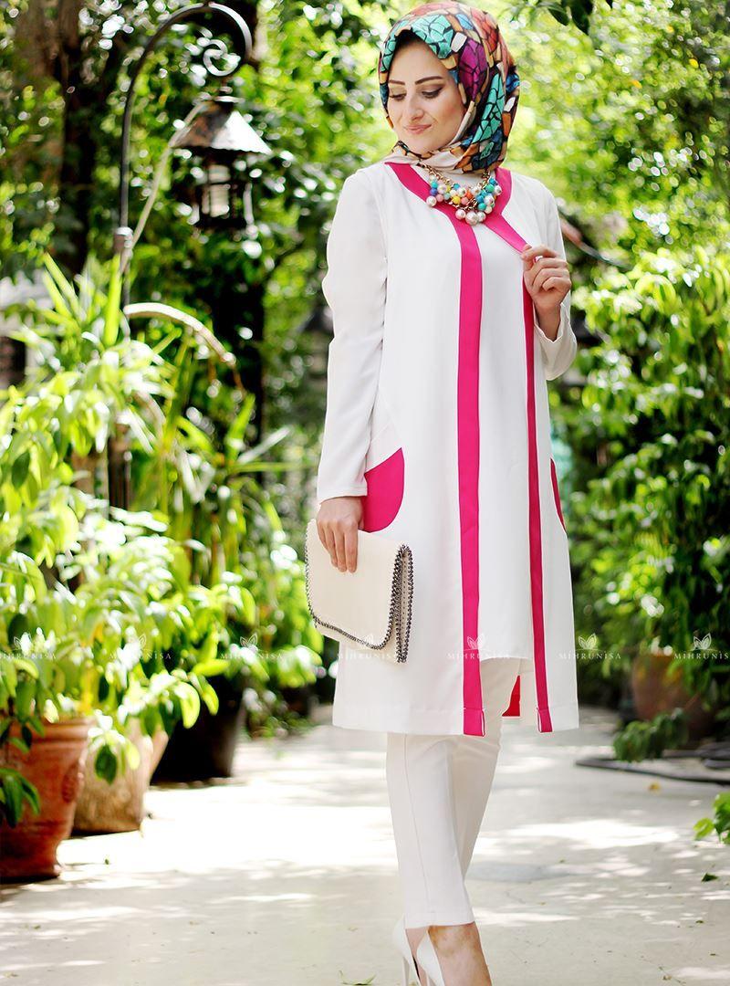 Ahsen Yelek Fusya Seda Tiryaki Islamic Clothing 2019