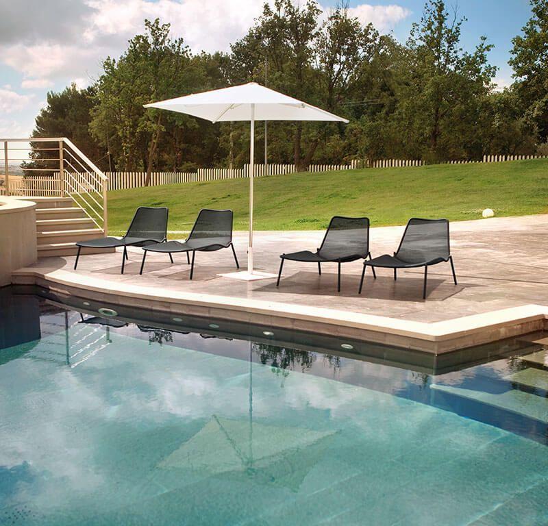 Stackable Sunbed - Sunbed - Round EMU | Outdoor Furniture | Garden ...