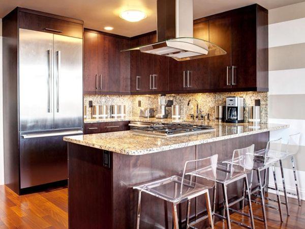 küchenideen kleine küche einrichten holzküche Küche - küchenideen kleine küchen