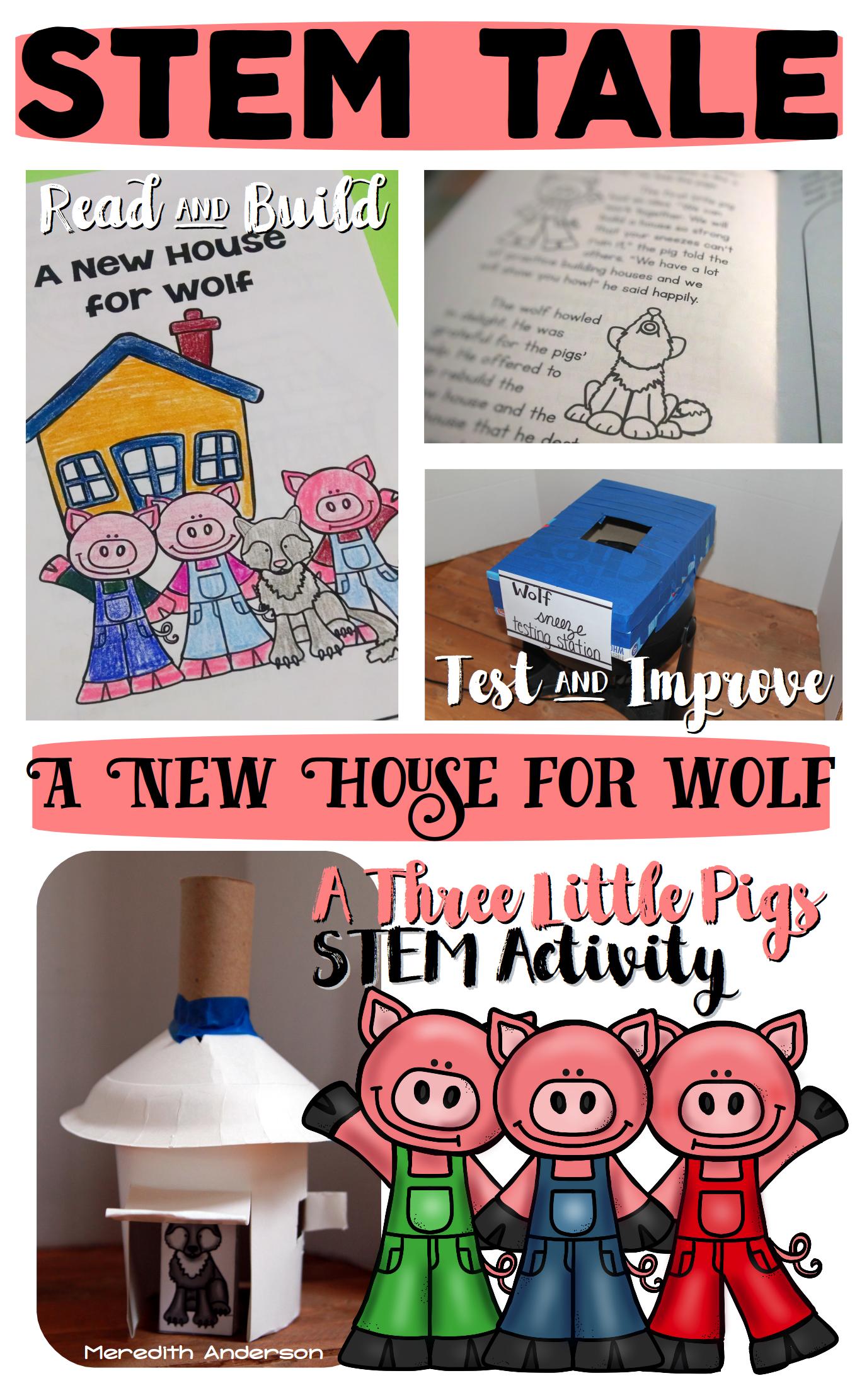 The Three Little Pigs Stem Activity