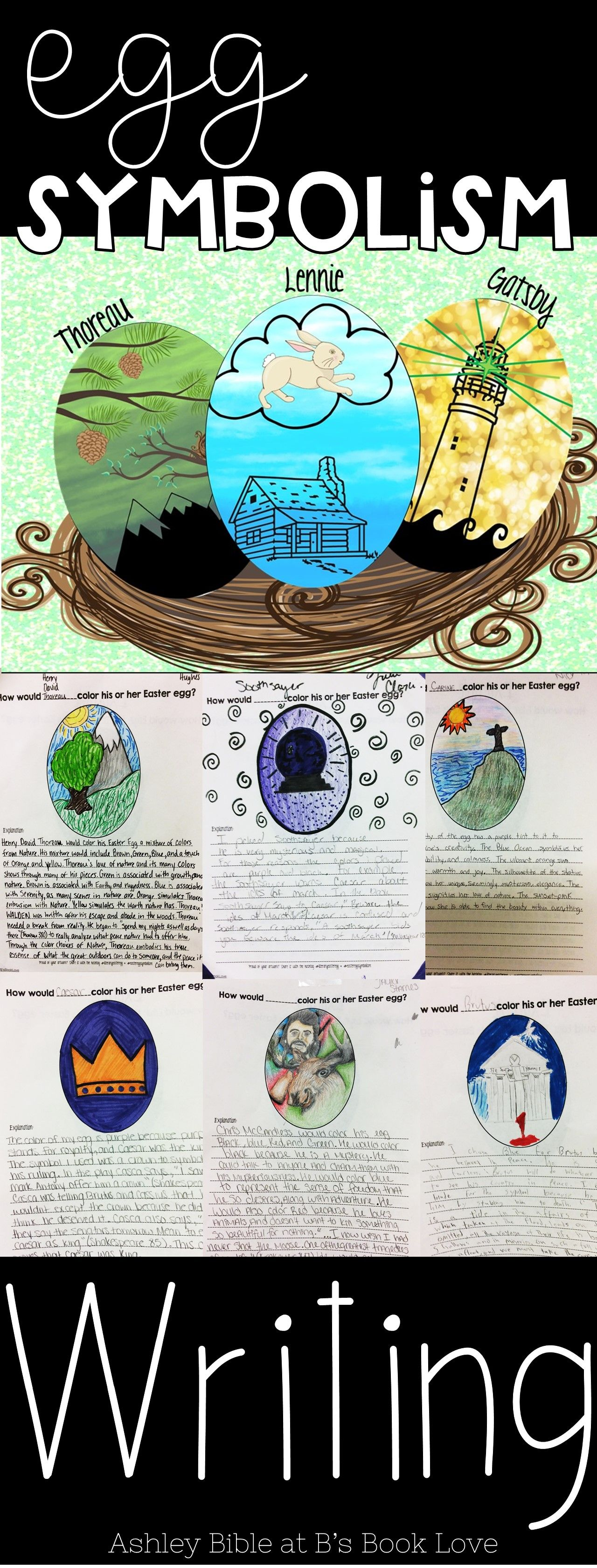 Spring Egg Symbolism Writing An Easter And Spring Writing
