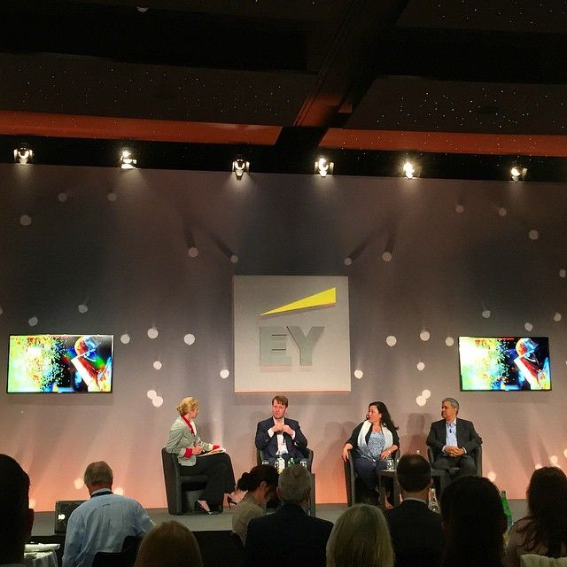Purpose powered breakfast with EY Beacon Institute and the renowned panel speakers Chairman of Nokia Corp, Cisco and Abraaj Private Equity. #EY #WEOY