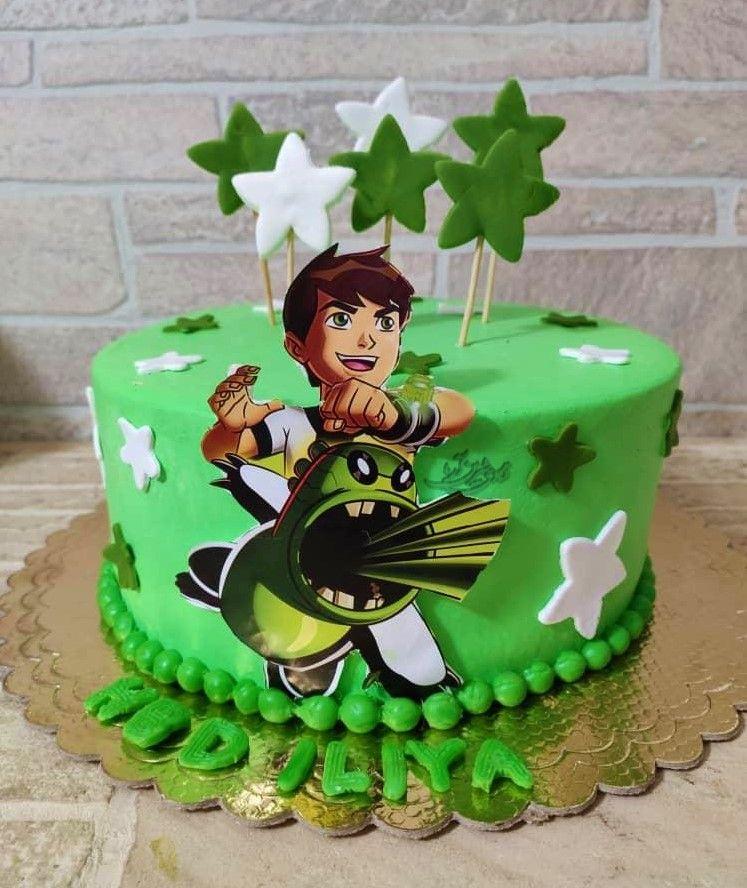کیک بن تن Cake Paw Patrol Birthday Birthday Cake