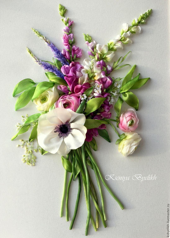 Купить Букет с анемоной комбинированный анемона букет цветов
