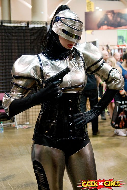Female Robocop -- Fan Expo 2014 #cosplay | Superheroine ...