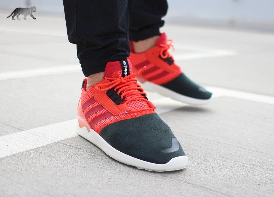 adidas ZX 8000 BOOST (Semi Solar Red / Scarlet / Core Black)