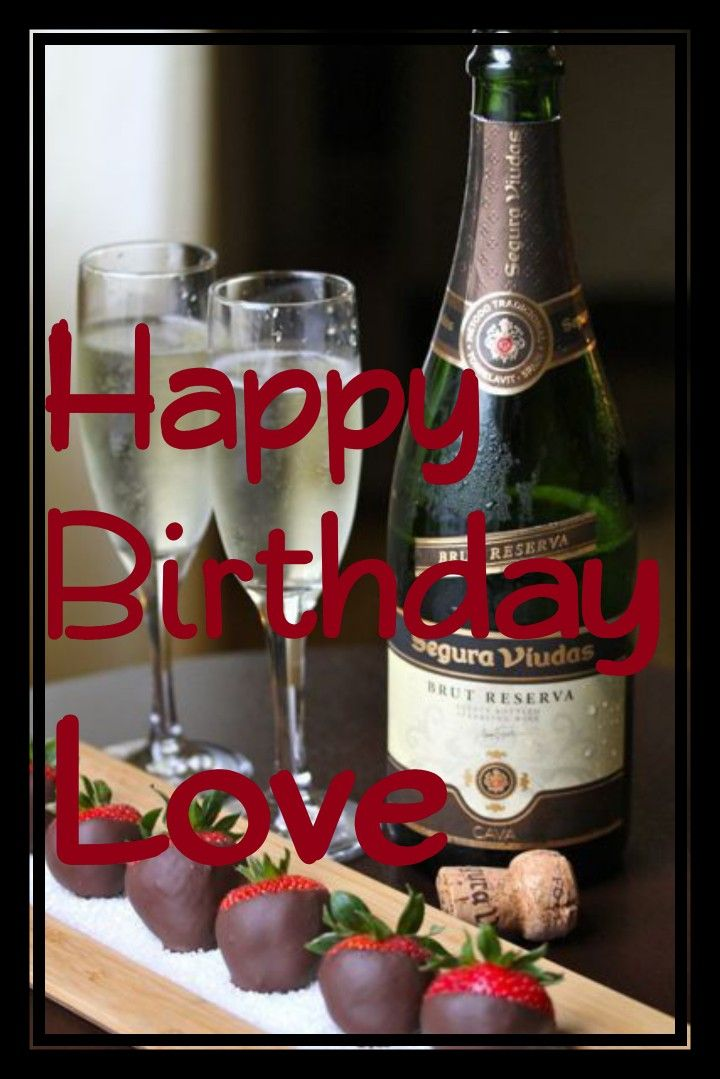 Happy birthday wine and candy happy birthday flower