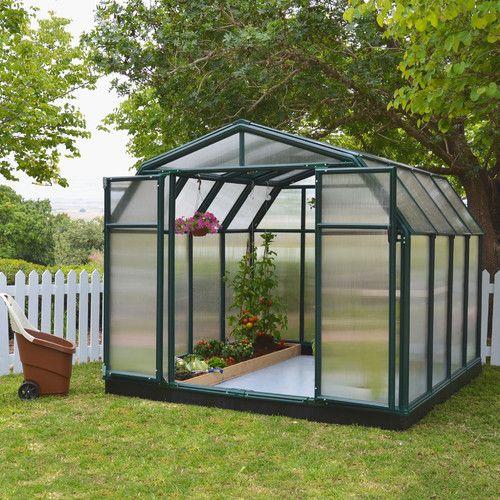 Serre Murale L 8 Pi X P 8 Pi Hobby Gardener 2 Maison Verte Serre Jardin Mini Serre De Jardin