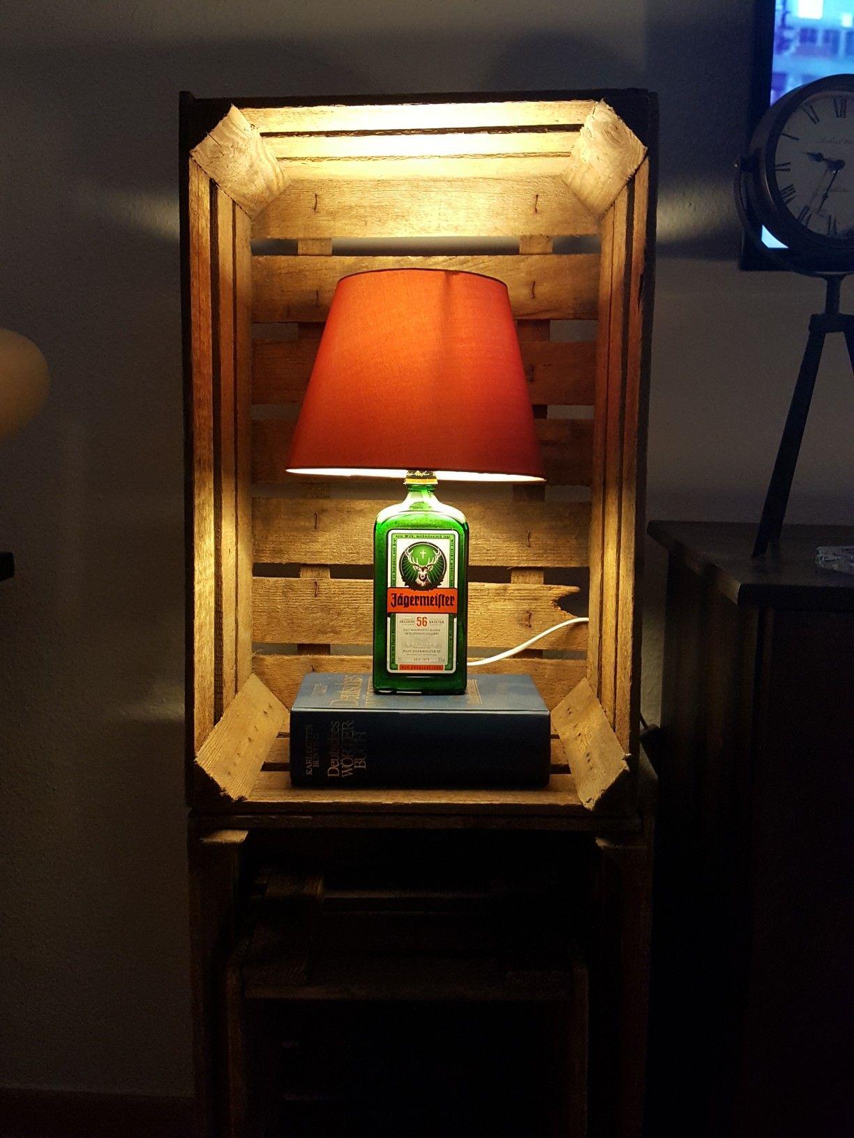 j germeister lampe steht zum verkauf lampen pinterest projekte geschenke und geschenkideen. Black Bedroom Furniture Sets. Home Design Ideas