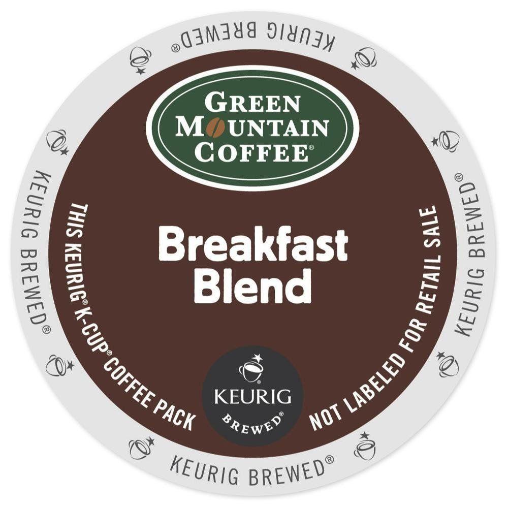 Green mountain coffee keurig breakfast blend kcups 24 ct
