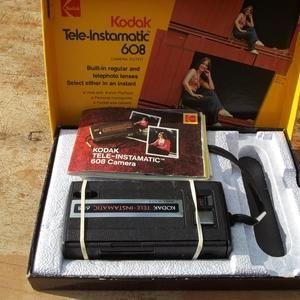 My 1st camera the Kodak Tele-Instamatic 608 Camera