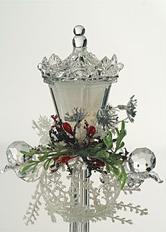 Image detail for -Battery Operated LED Lamp Post Acrylic Crystal - Buy Now