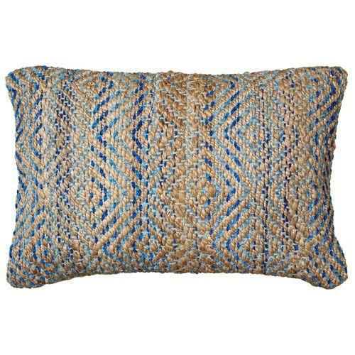 Found It At Wayfair Coastal Natural Fiber Accent Lumbar Pillow