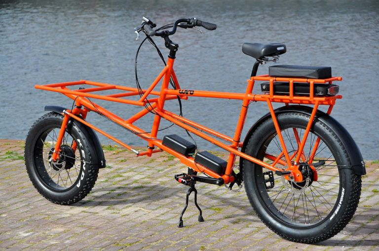 Tolles Finnisch Wind Cycleworks E Cargo Fatbike Stahlrahmen