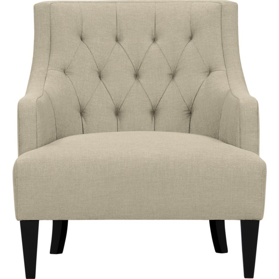 Bon Tess Chair Samba Linen / West Elm