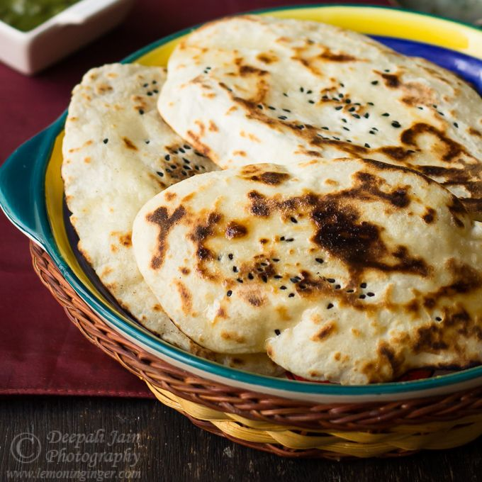 Naan without Yeast   Recipes, Naan, Butter naan recipe