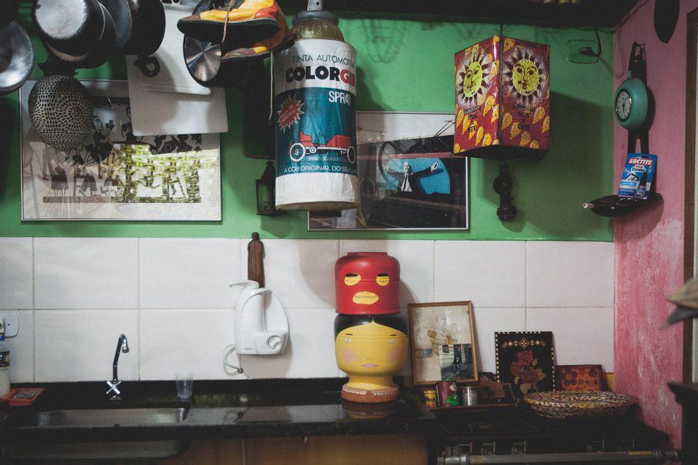 OsGemeos' kitchen
