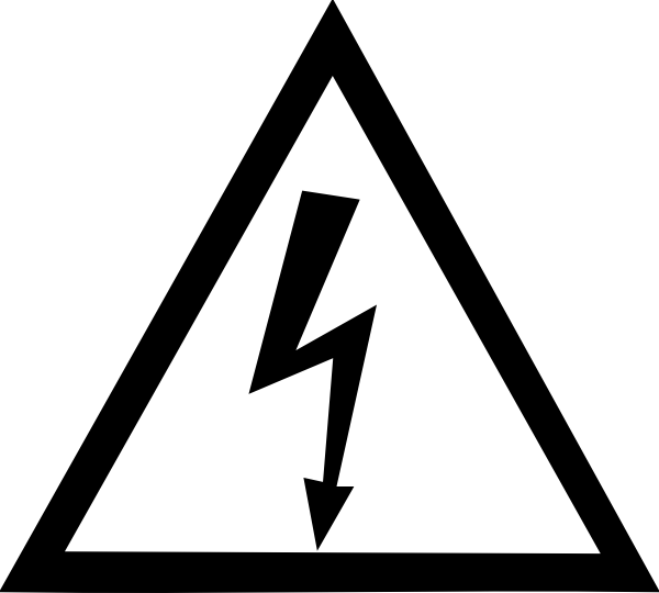 Electricity Symbol Hazard Sign High Warning Voltage Hazard Sign Symbols Hazard Symbol