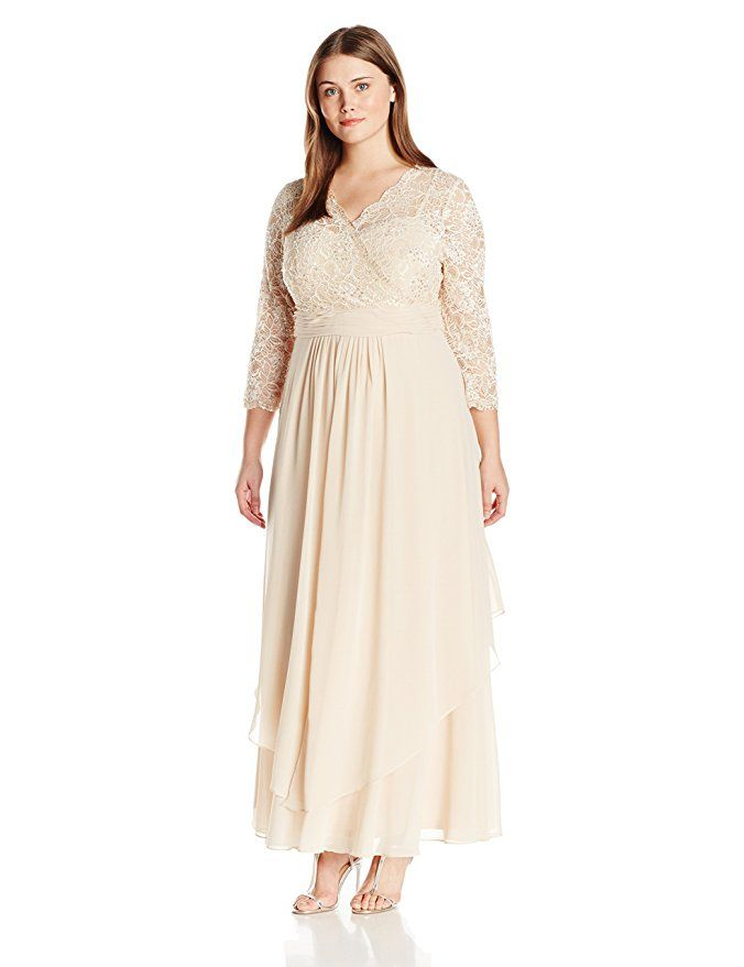 Plus Size Women Plunge V Neck Floral Dress Ladies Long Sleeve Pleated Long Dress