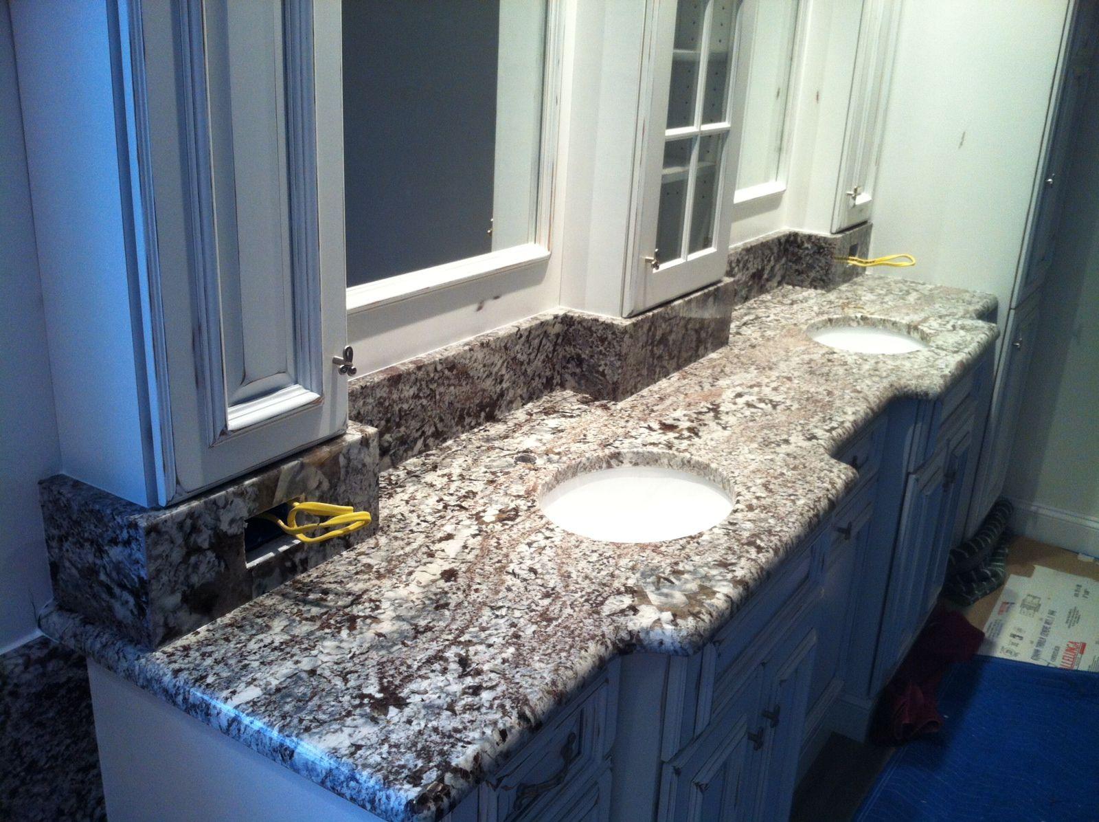 Lennon granite vanity top by natural stoneworks bathrooms pinterest granite vanity tops for Granite vanity tops for bathrooms