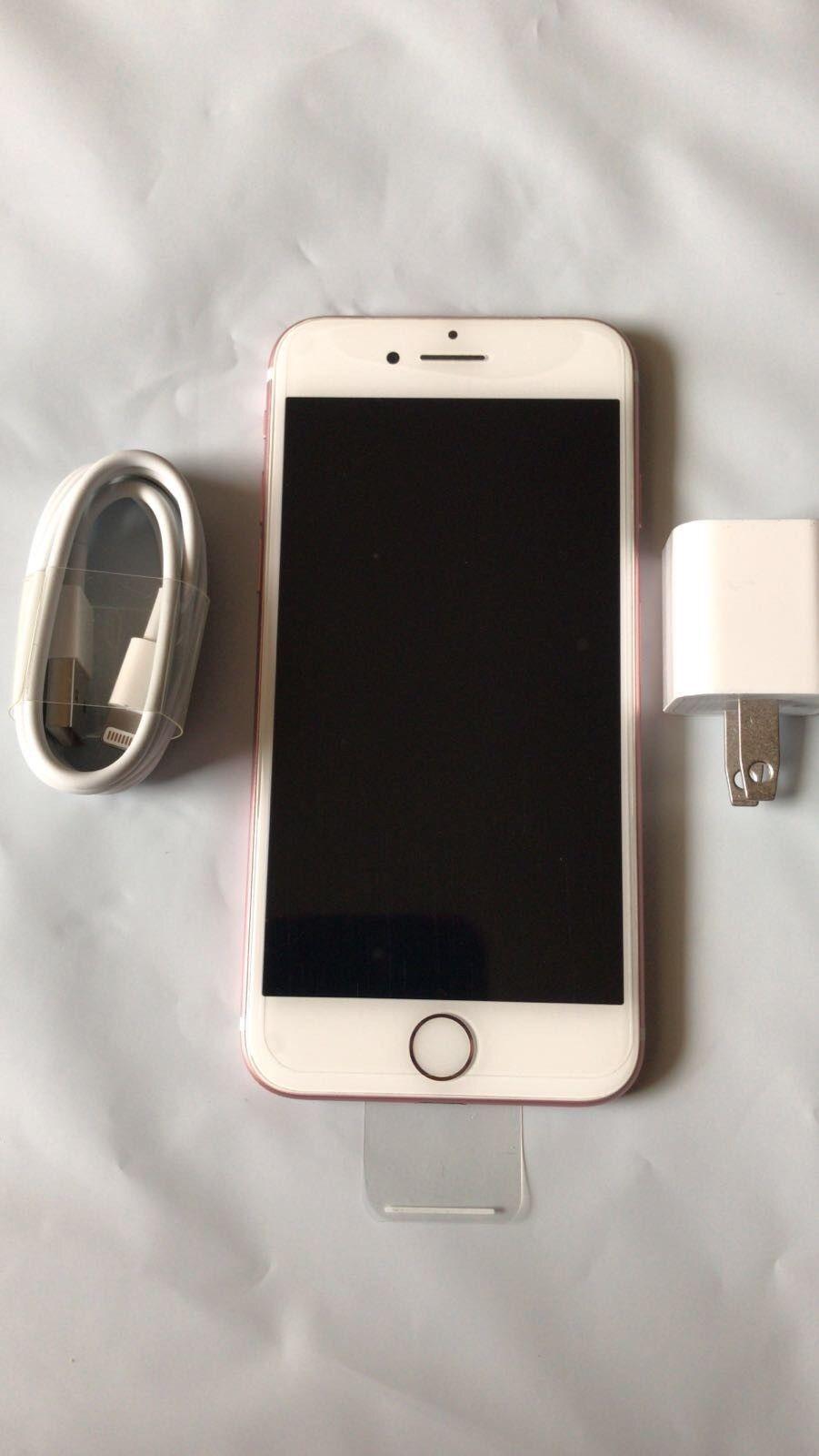 New Apple Iphone 7 128gb Rose Gold Verizon Factory Unlocked Plus Jet Black Garansi Internasional Open