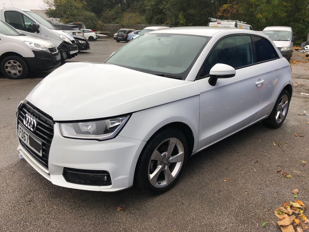 Ebay 2017 Audi A1 1 0 Tfsi Sport Damaged Repairable Salvage