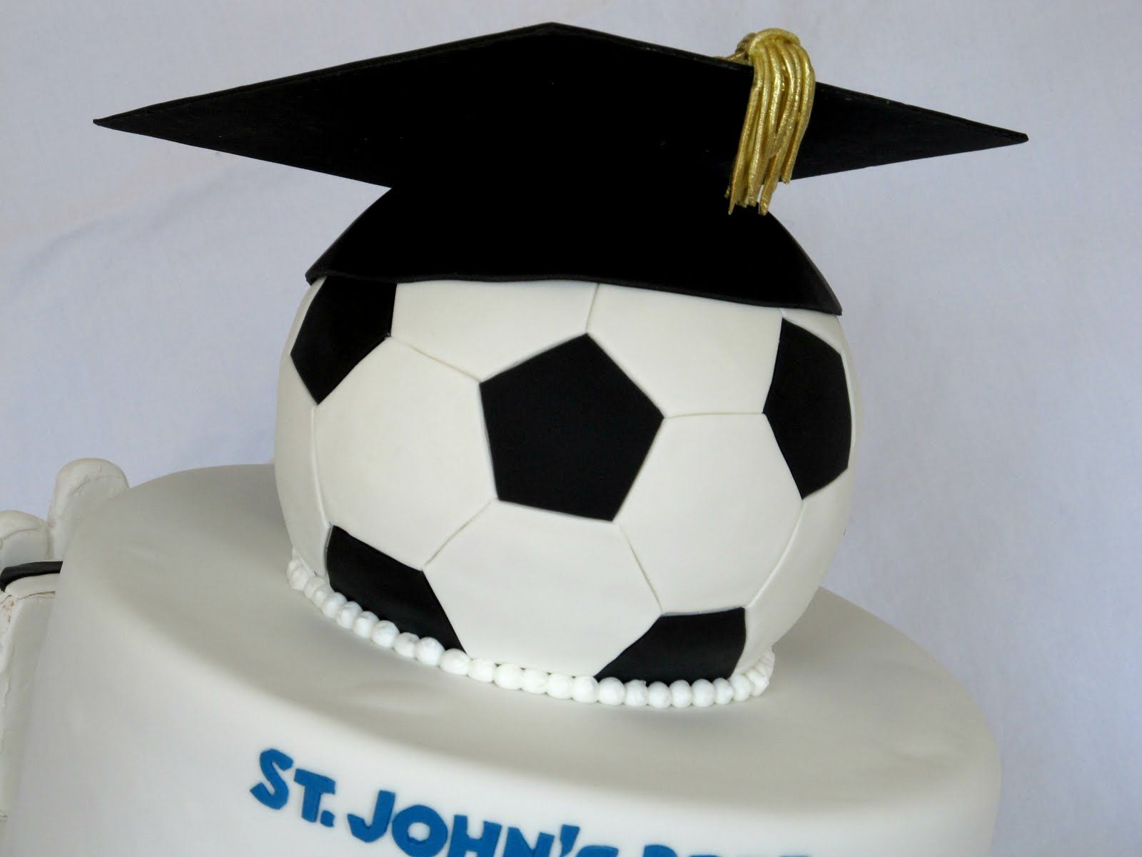 Just the soccer ball with the graduation hat on it. We will use that ...