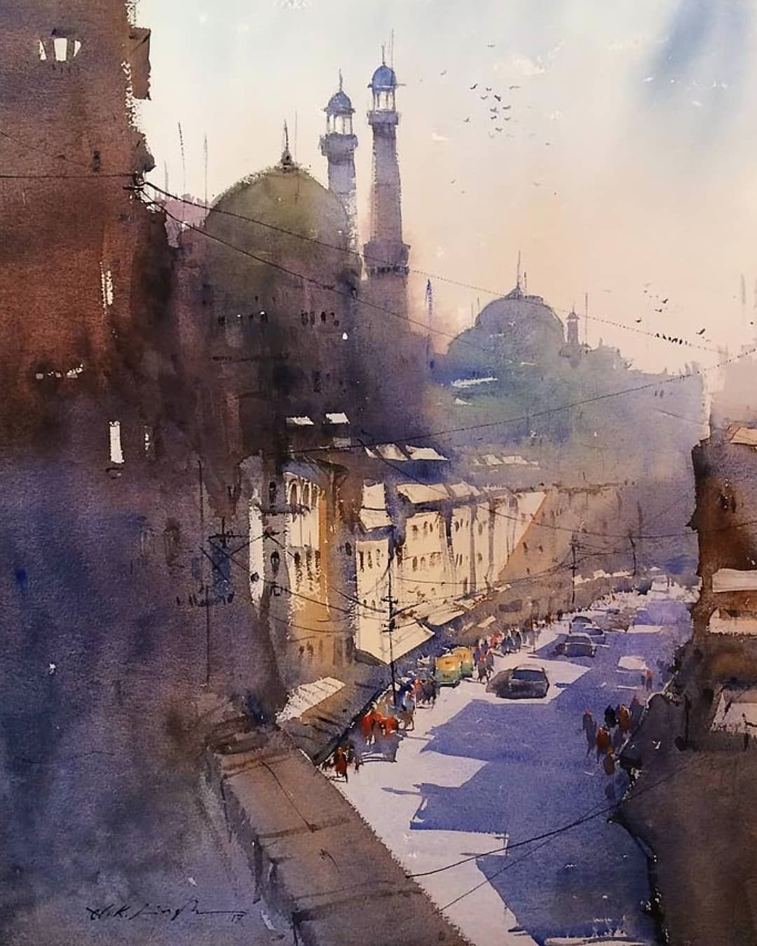 Watercolor Arts On Instagram Watercolor By