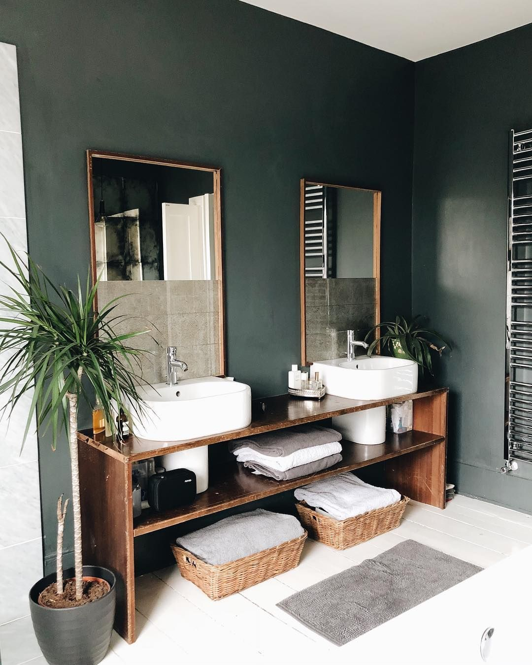 Well I M Pleased To Say That I Slept Much Better Last Night And I Hope All Of You Who Were Awake With Me The Night Bef Dark Green Bathrooms Green Bathroom