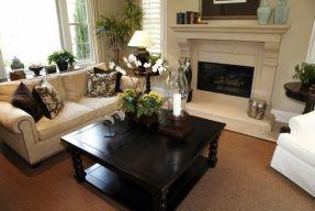 Dark Wood Square Coffee Table Foter room dec Pinterest