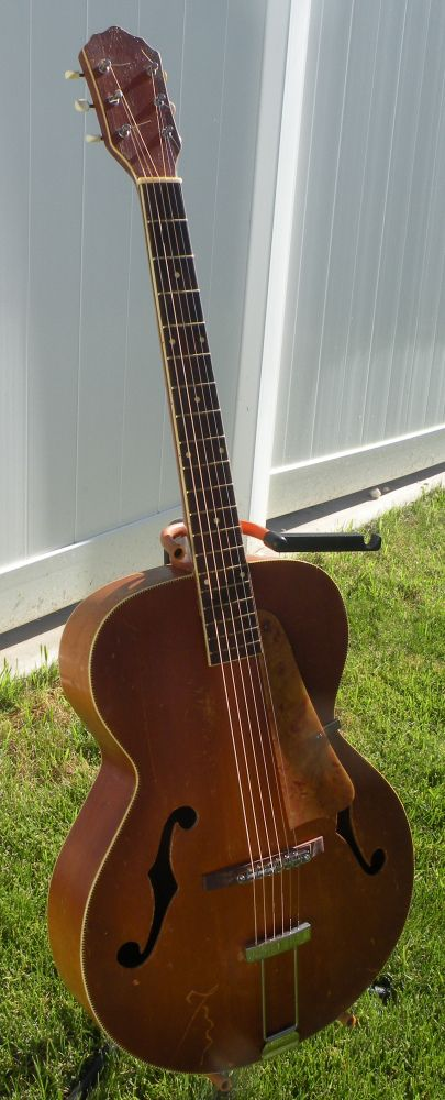 vintage kay archtop repair my instument projects guitar archtop guitar jazz guitar. Black Bedroom Furniture Sets. Home Design Ideas