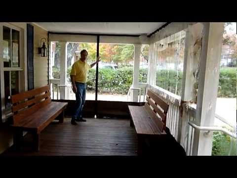 How 2 Install Southern Patio Enclosures Clear Vinyl Patio Enclosures Drop Curtain System Youtube Porch Vinyl Curtains Outdoor Panels Porch Vinyl