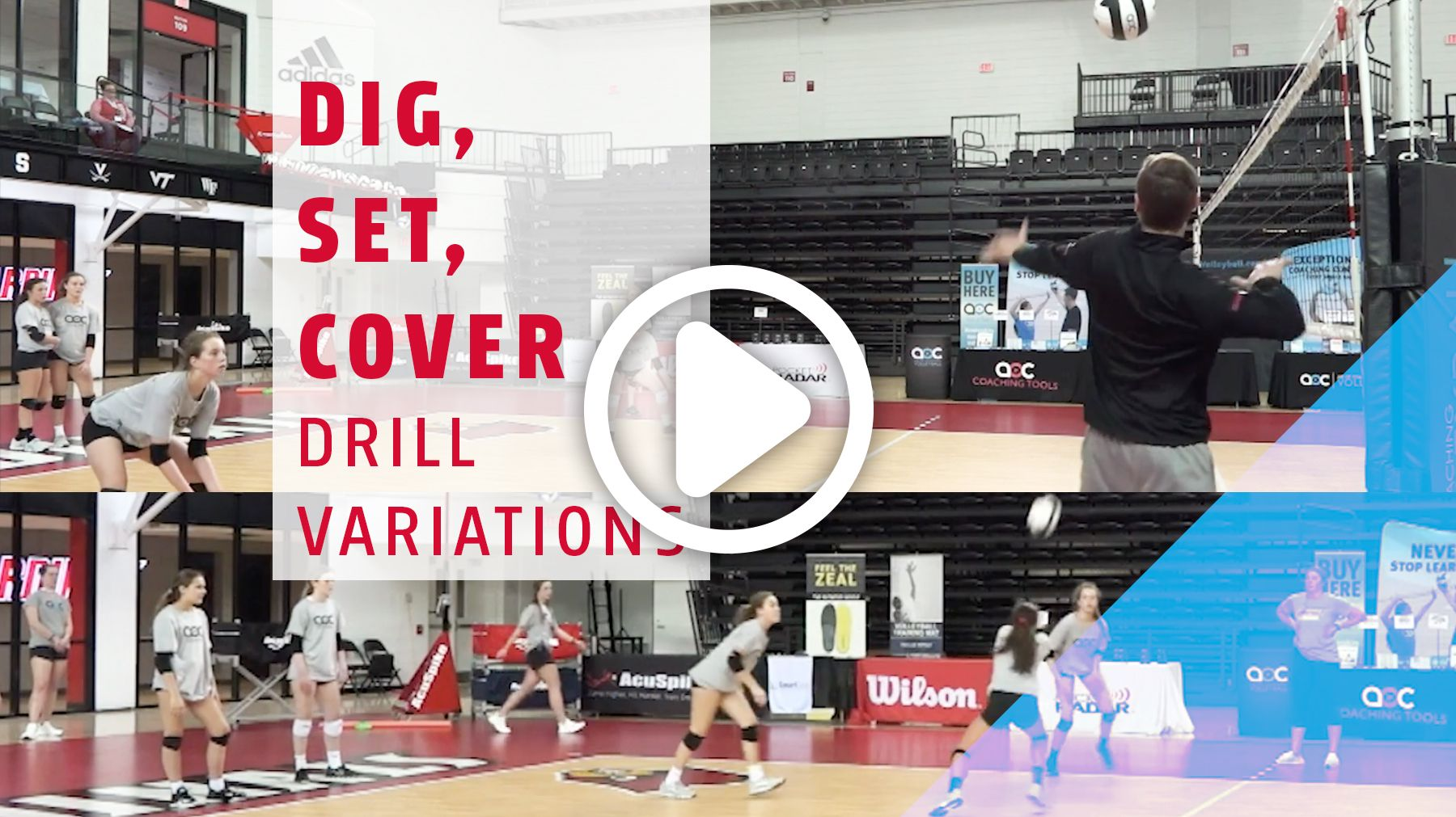Need A Quick And Easy Drill To Work On Three Different Skills At Once Train Digging Back Row Setting And Attack Coverage With This Simpl Set Cover Drill Dig