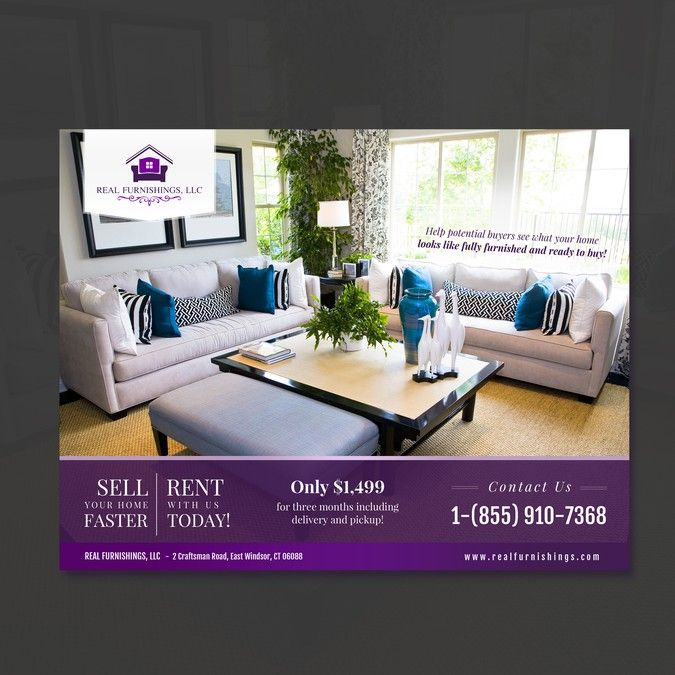 Real Estate Listing Furniture Rental Company by phongling