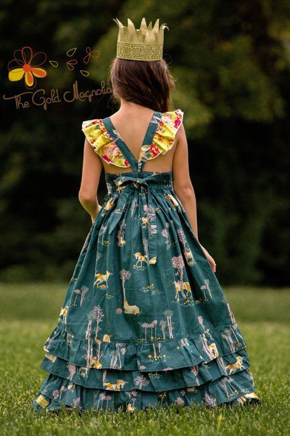 Girls Unicorn Maxi Dress Unicorn Dress Girls Boutique Maxi  bc21b87a46