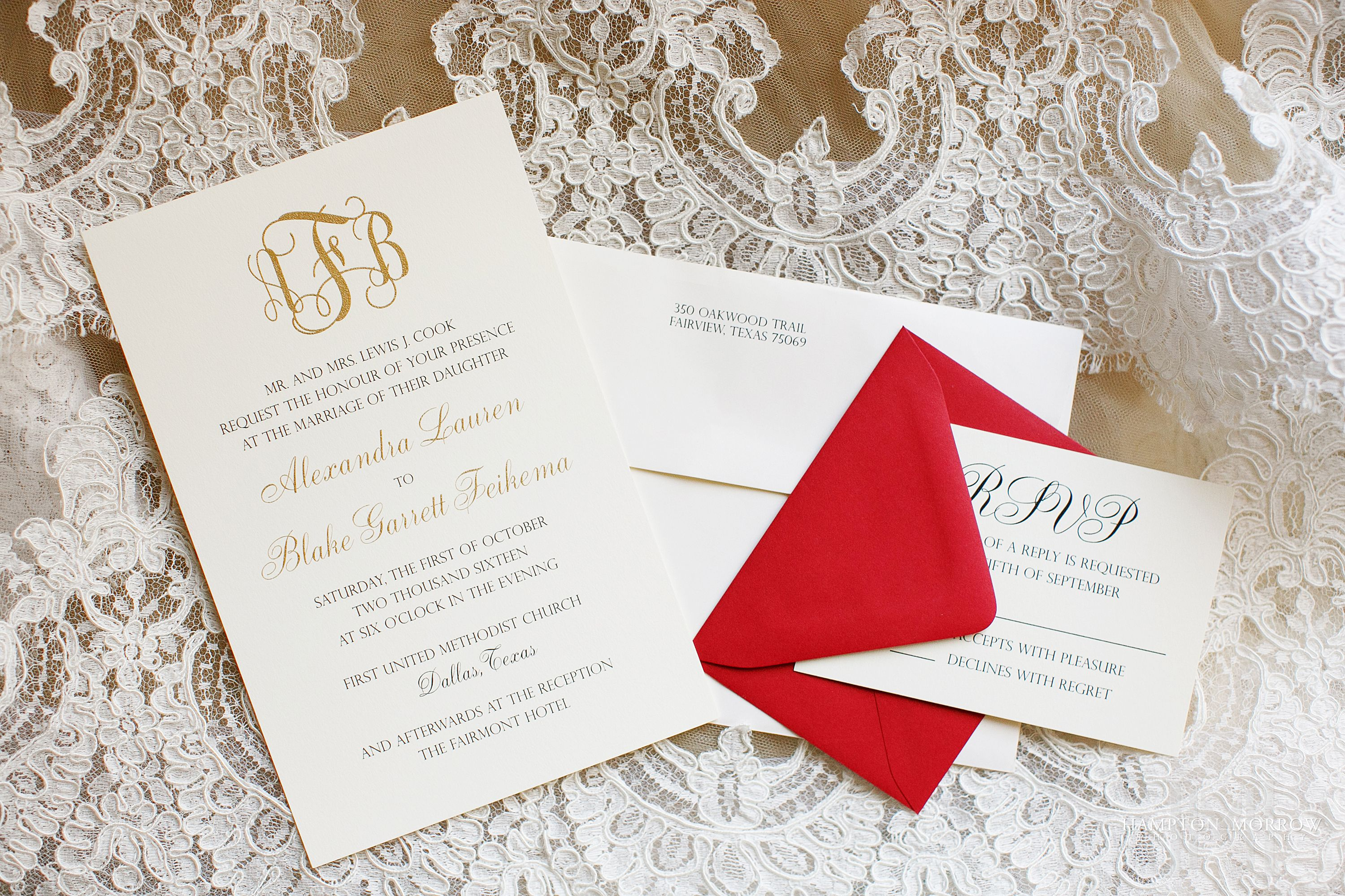 Lexie + Blake: October Wedding with Rich Fall Color Palette | Paper ...